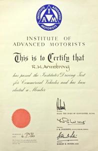 IAM Certificate